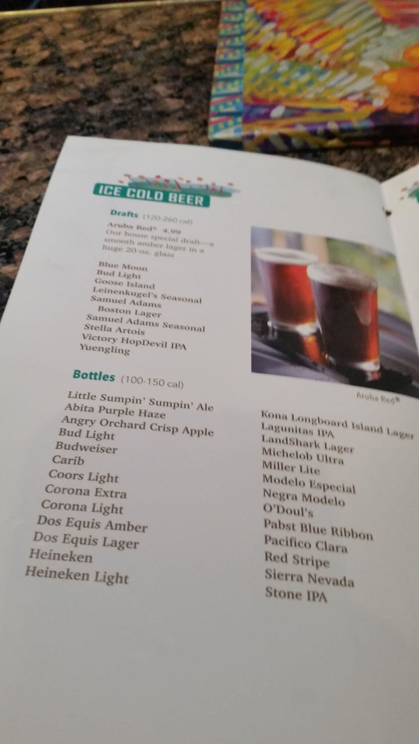 Bahama Breeze Menu – 32