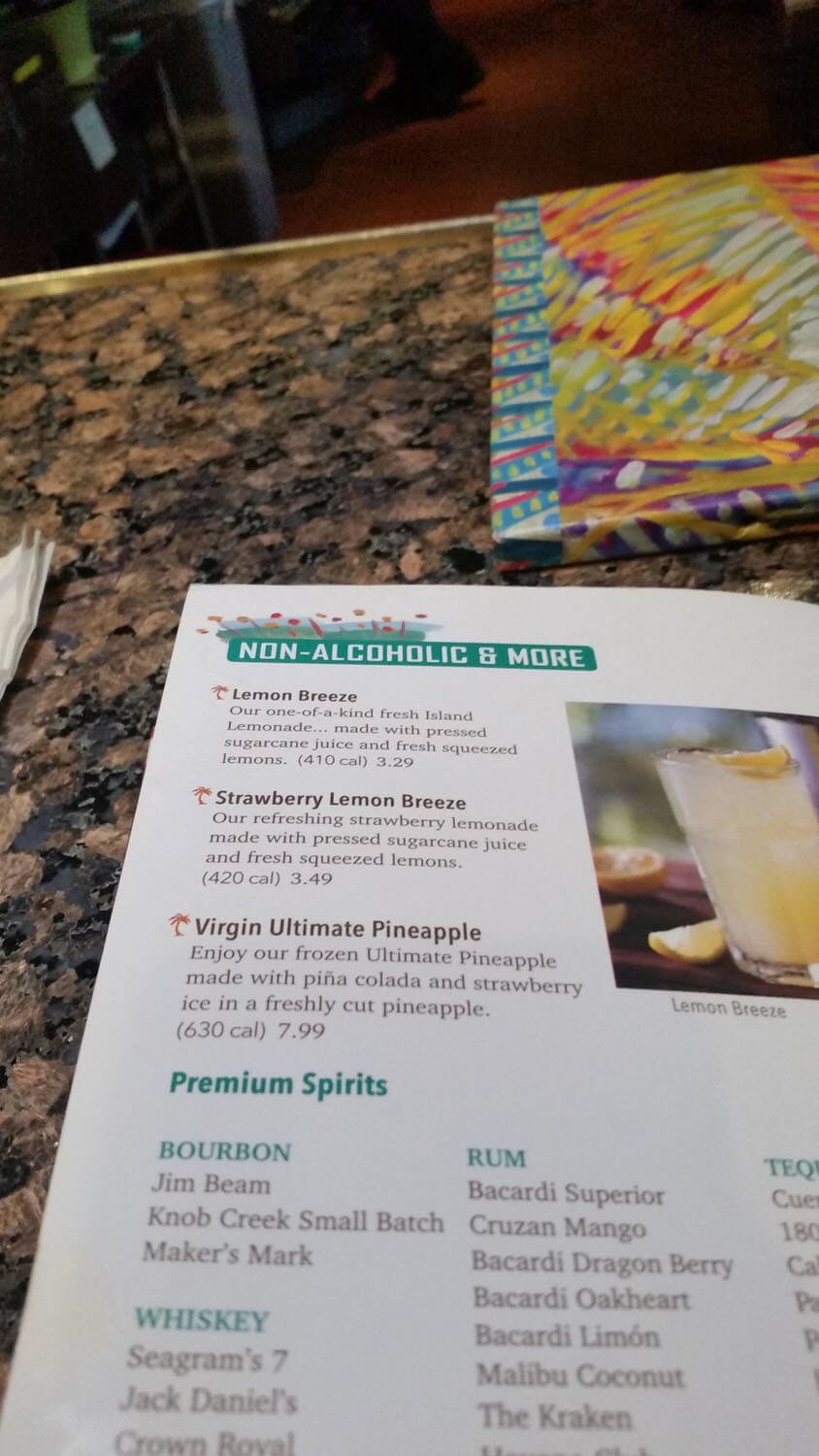 Bahama Breeze Menu – 34