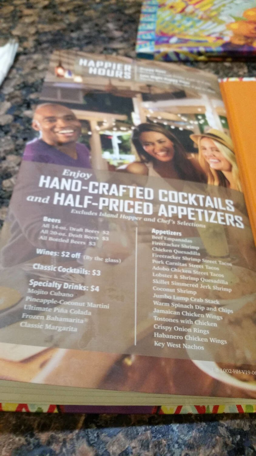 Bahama Breeze Menu – 38