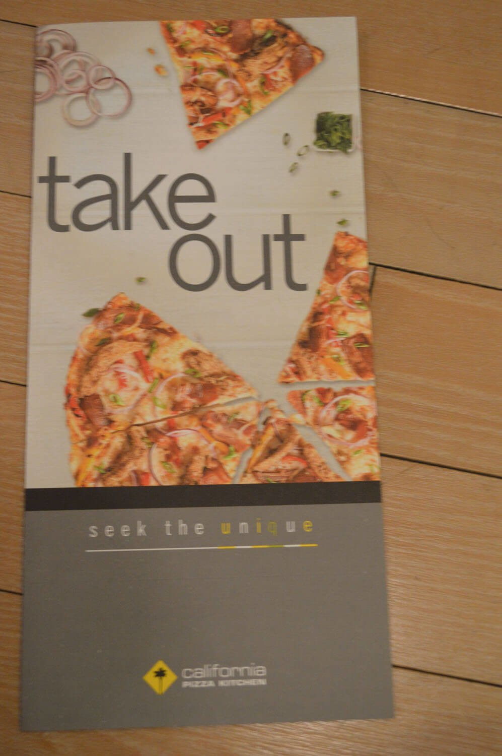 California Pizza Kitchen Menu – 1