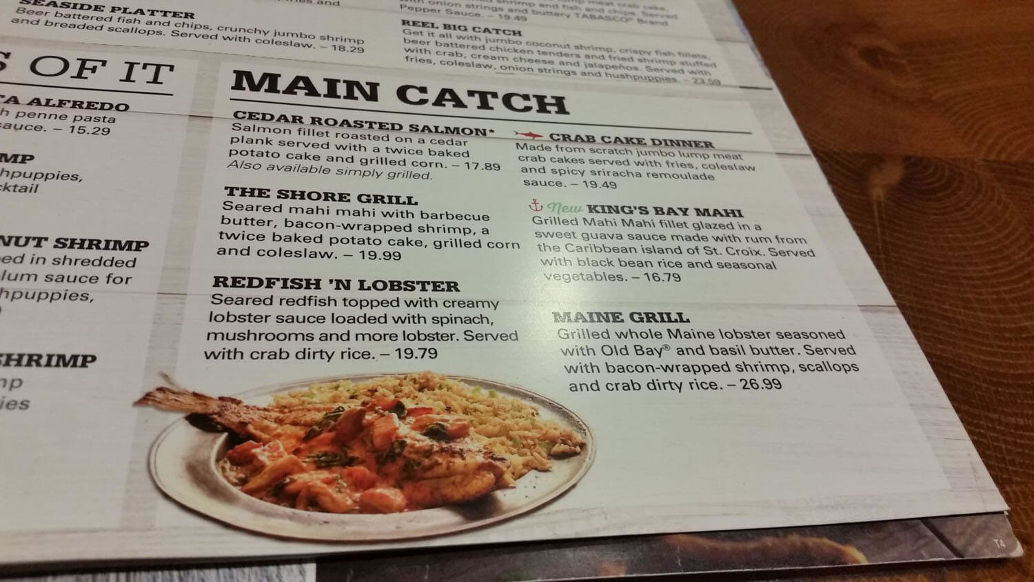 Joe's Crab Shack Menu – 10