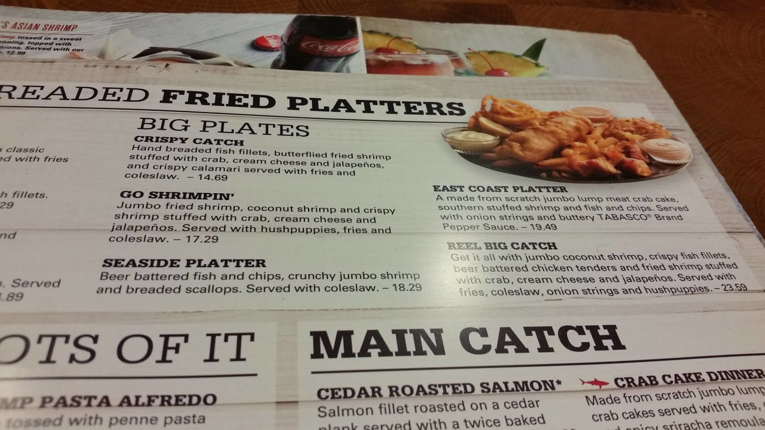 Joe's Crab Shack Menu – 11
