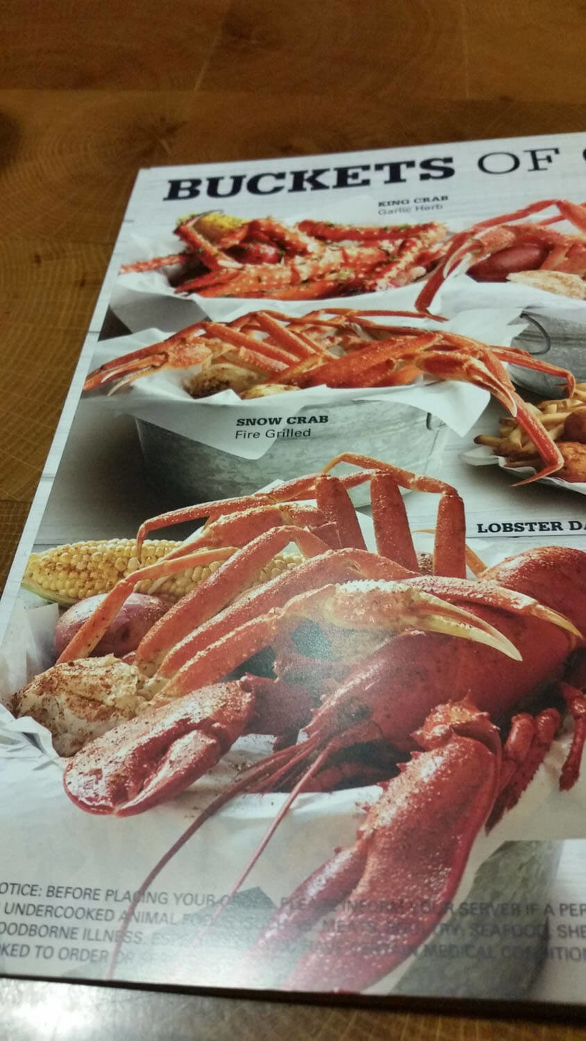 Joe's Crab Shack Menu – 12