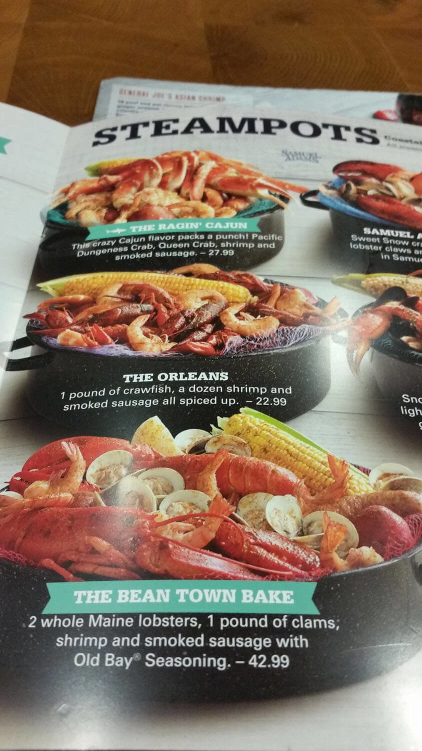 Joe's Crab Shack Menu – 17