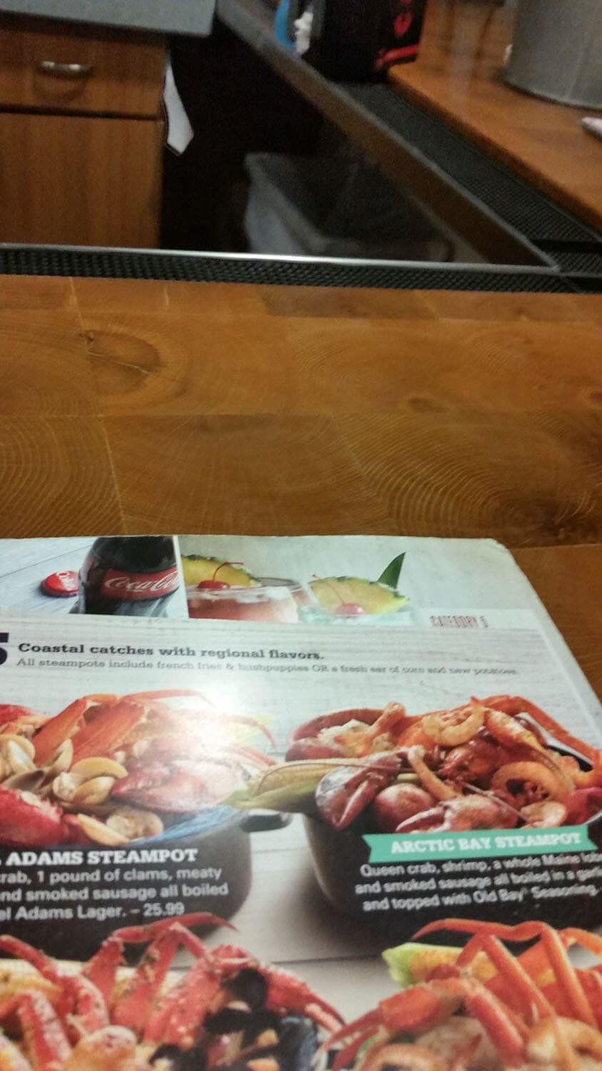 Joe's Crab Shack Menu – 20