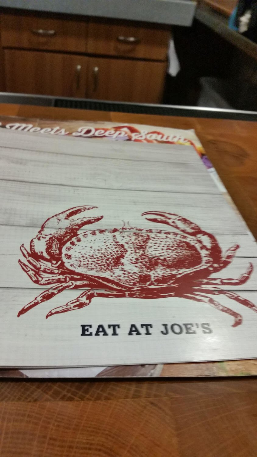 Joe's Crab Shack Menu – 30