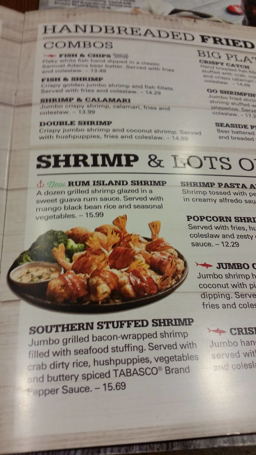 Joe's Crab Shack Menu – 5
