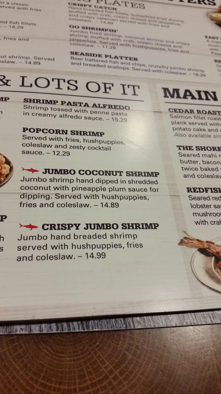 Joe's Crab Shack Menu – 8