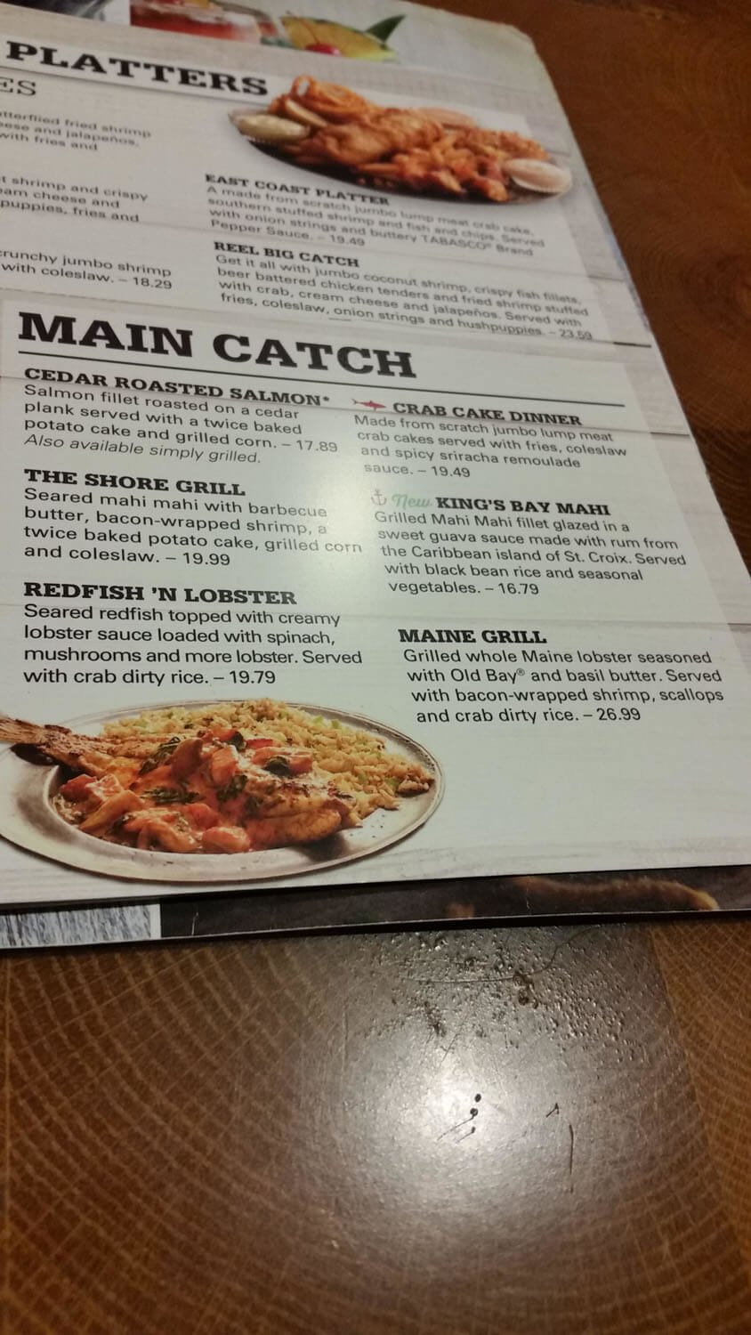 Joe's Crab Shack Menu – 9
