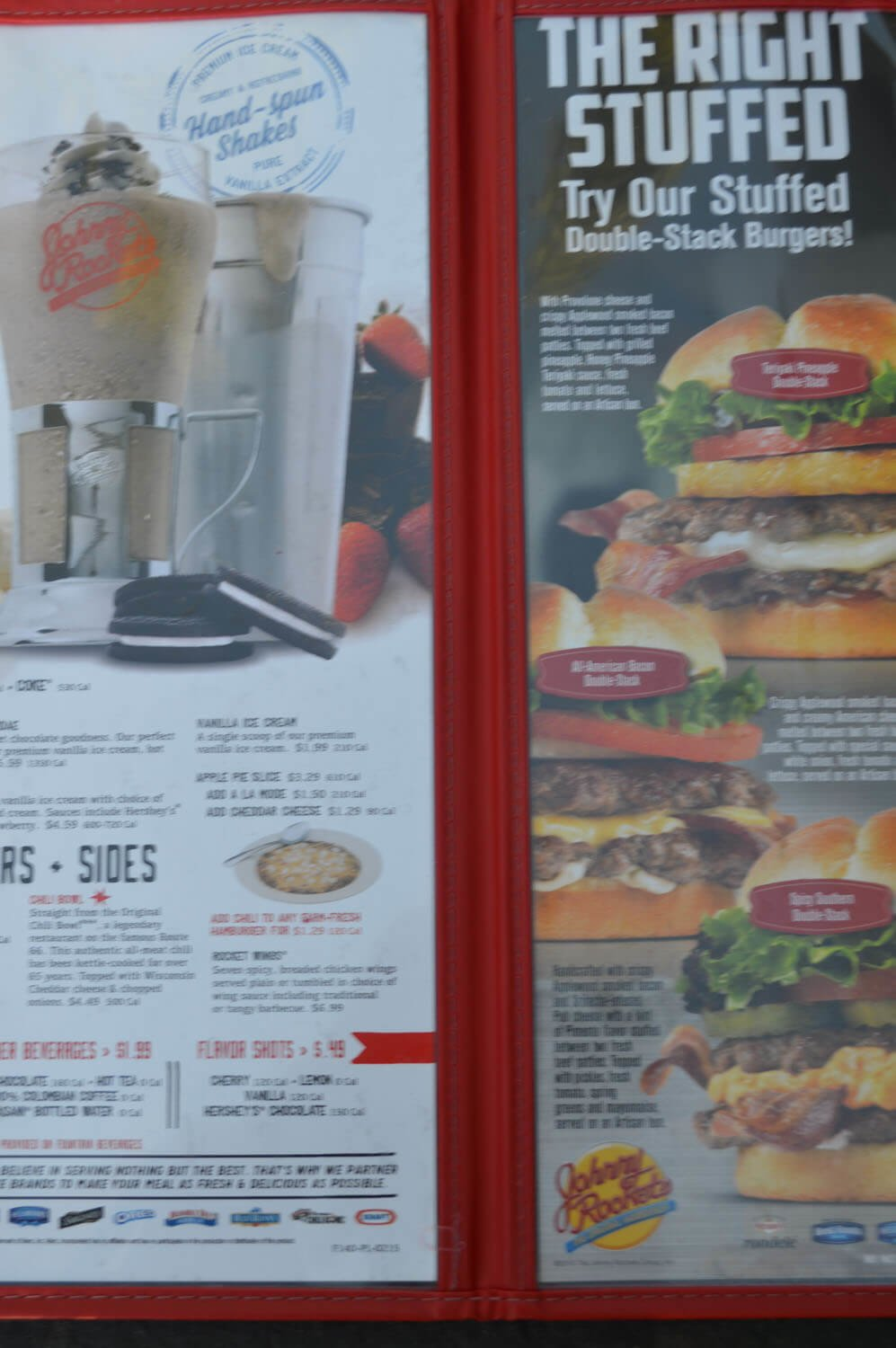 Johnny Rockets Menu – 3