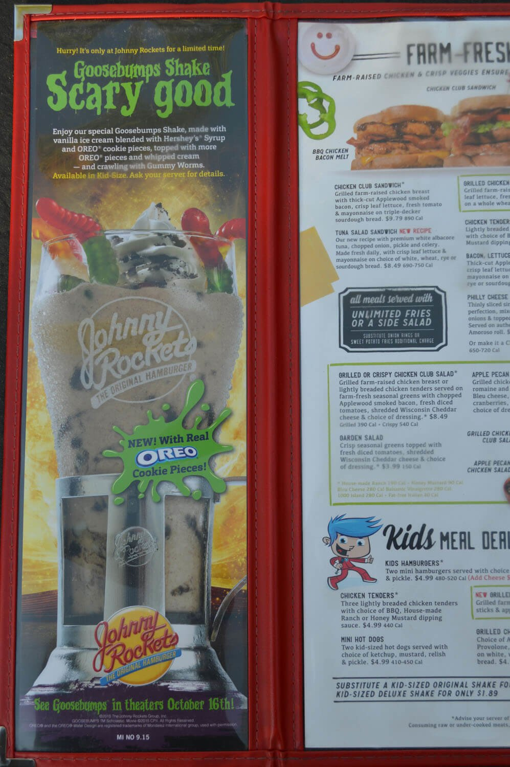 Johnny Rockets Menu – 4