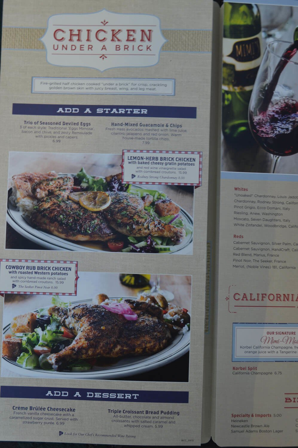 Mimi s Cafe Menu  Prices 2019 Meal Items Details Cost