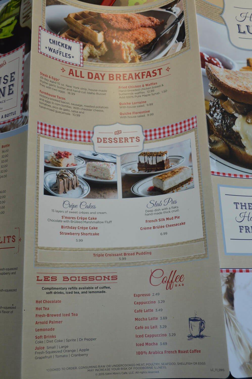 Mimi S Cafe Breakfast Menu Prices