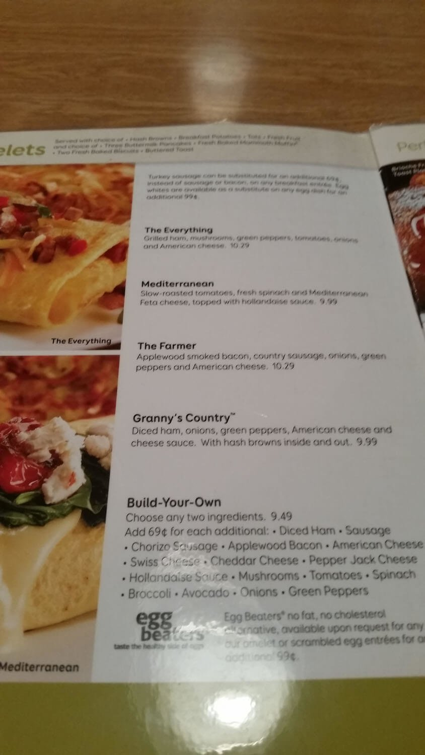 Perkins Menu – 1