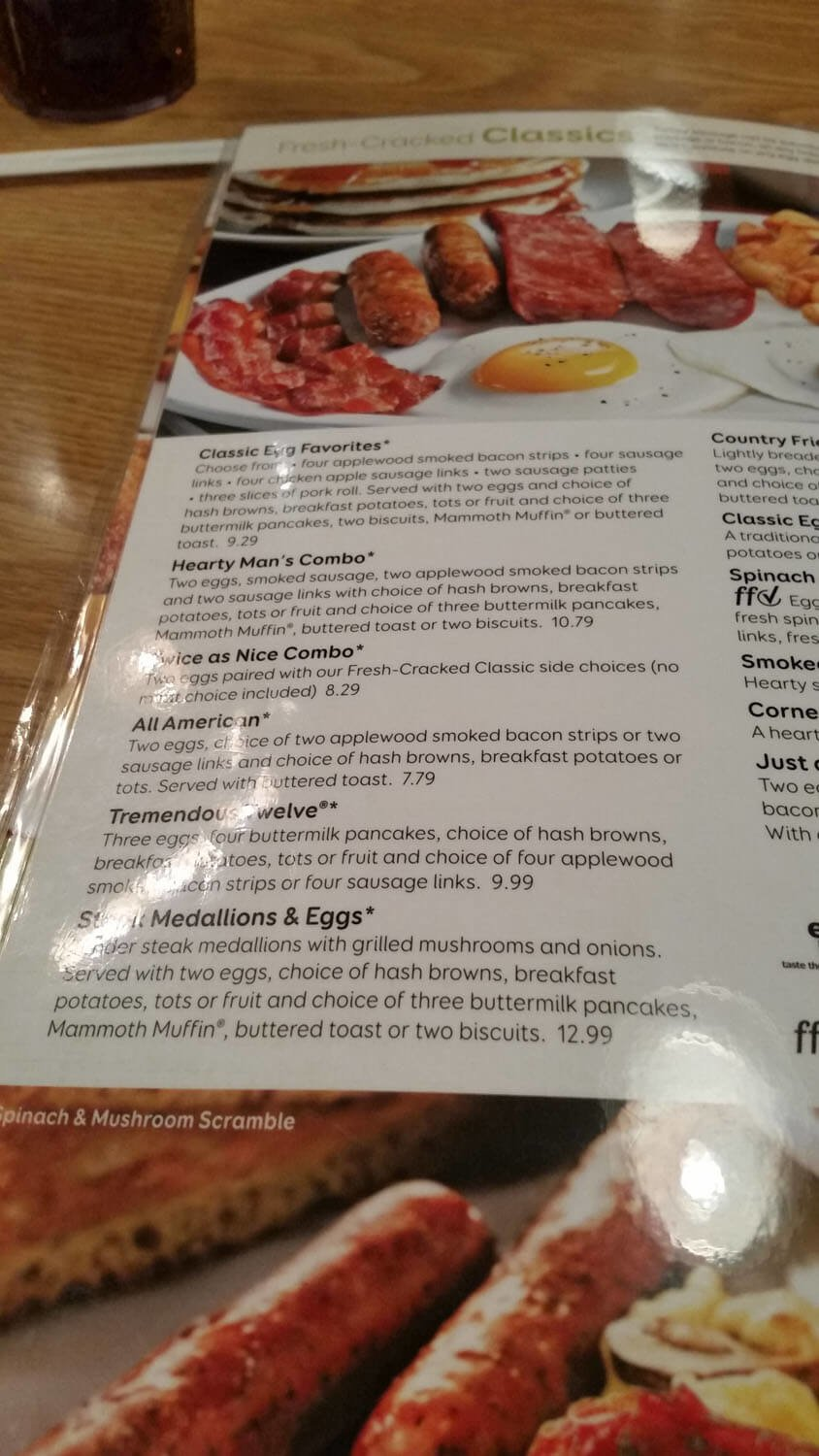 Perkins Menu – 15