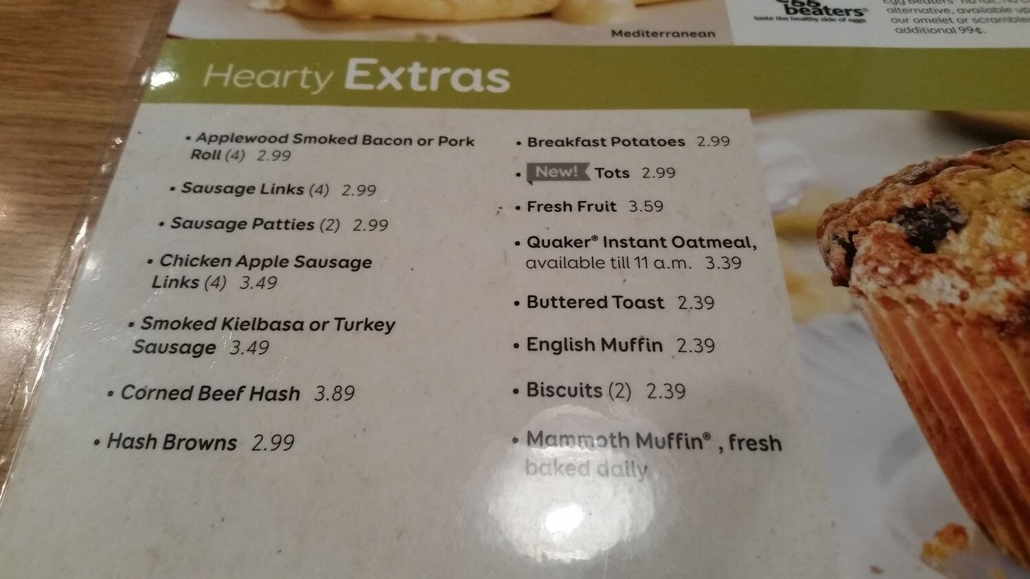 Perkins Menu – 4