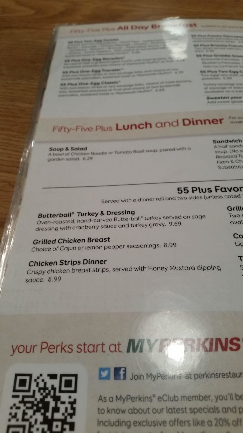 Perkins Menu – 41