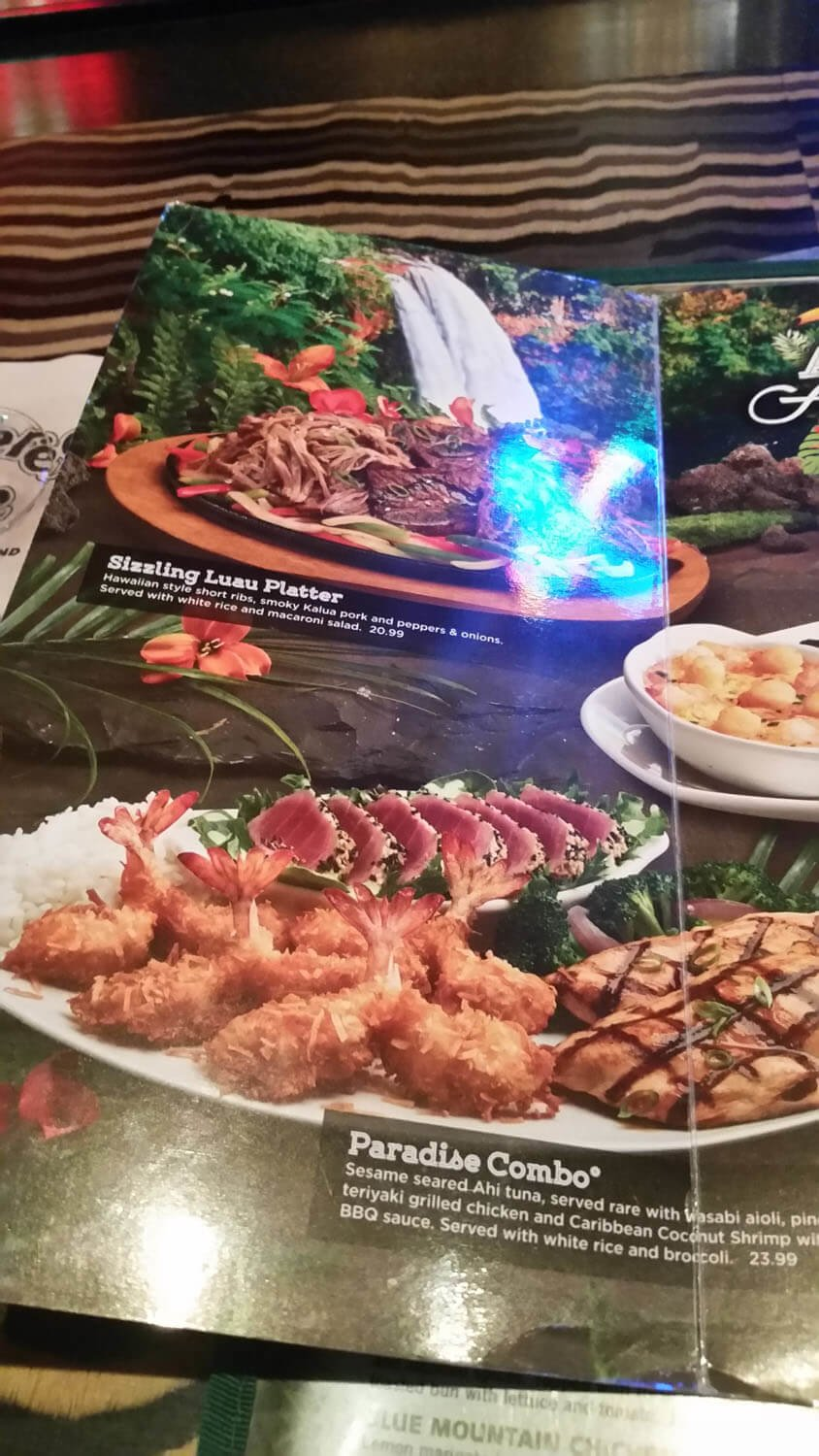 Rainforest Cafe Menu – 19