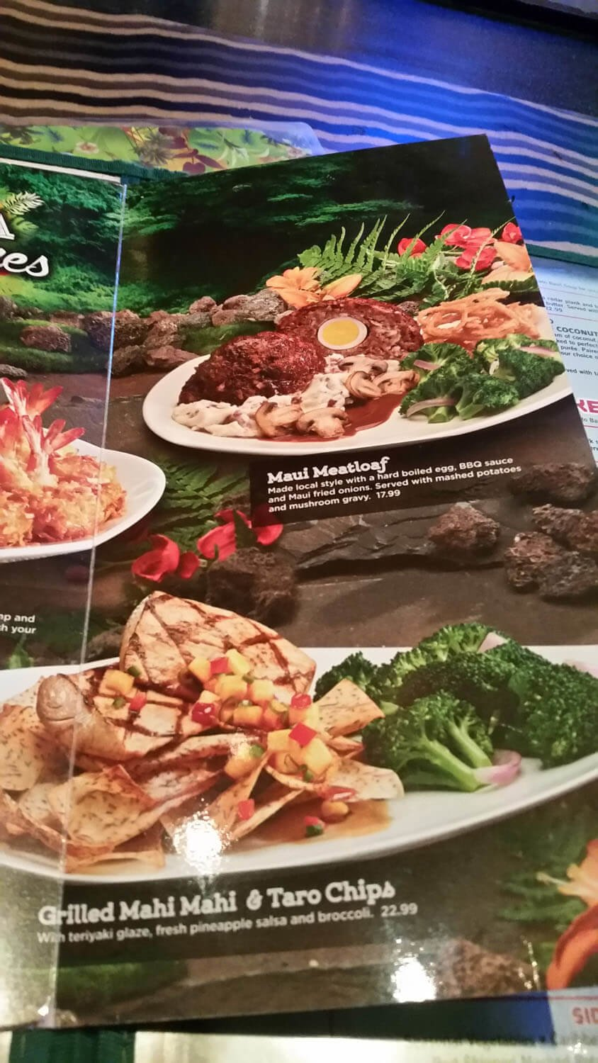 Rainforest Cafe Menu – 21