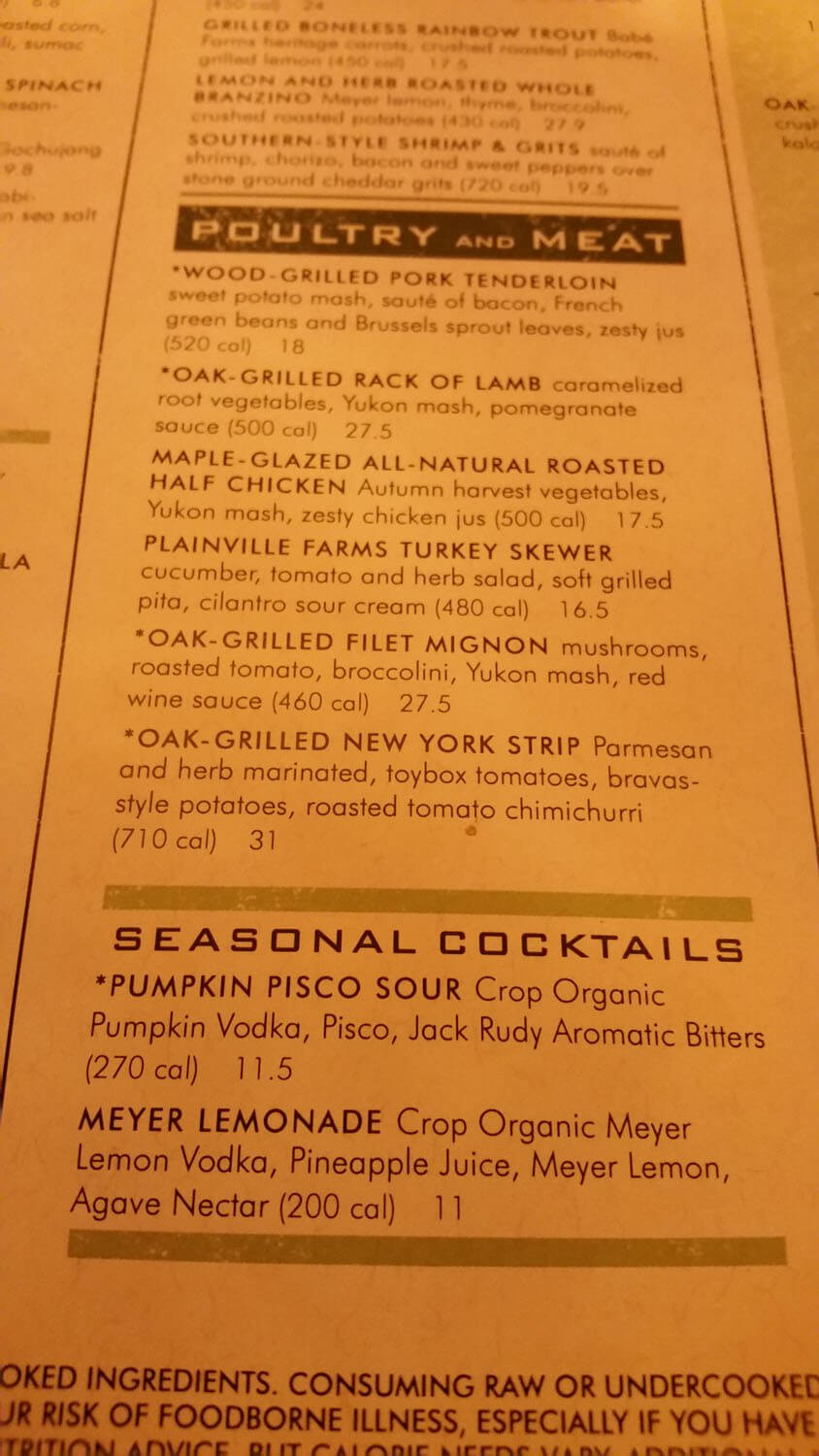 Seasons 52 Menu – 2