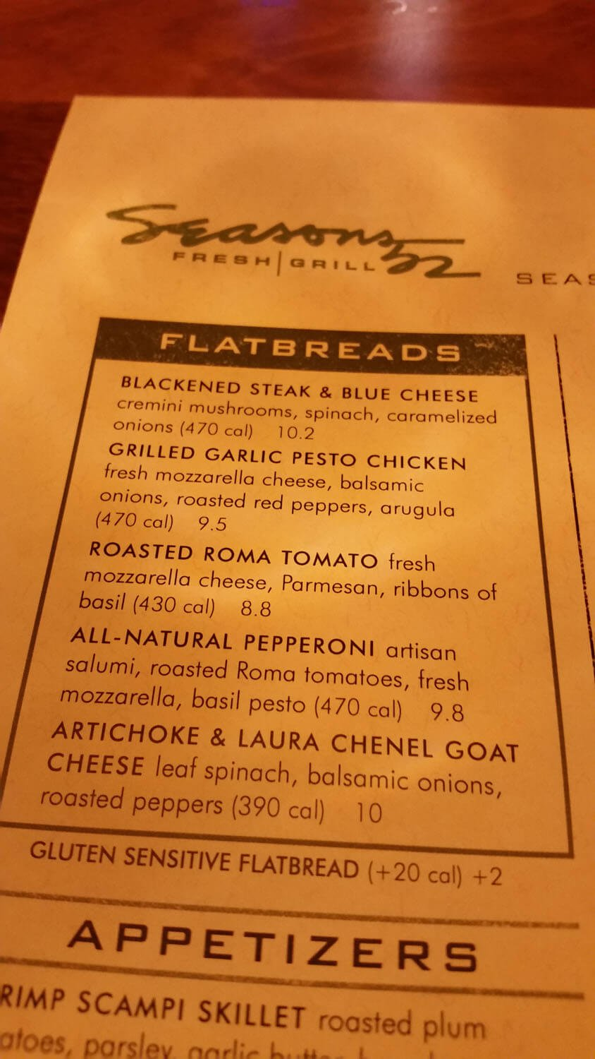 Seasons 52 Menu – 5