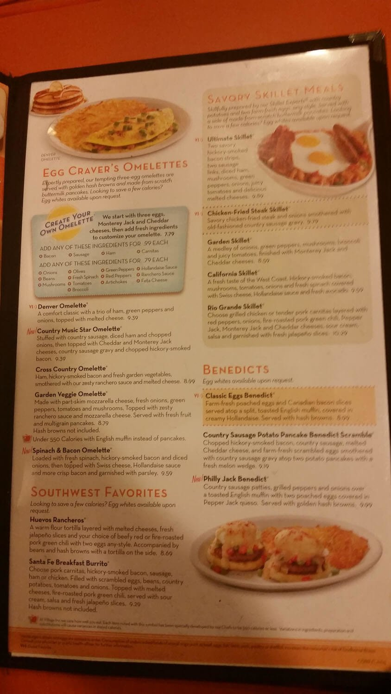 Village inn menu prices 2017 meal items details cost for X cuisine miri menu