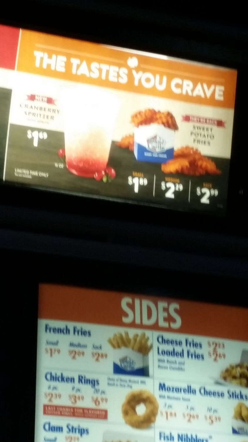 White Castle Menu – 12