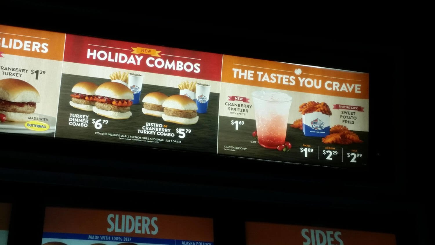White Castle Menu – 4