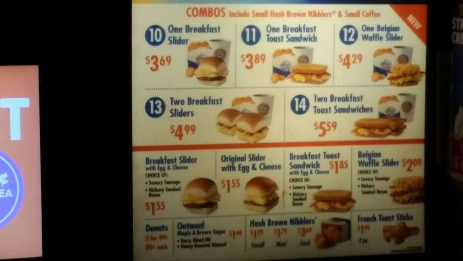 White Castle Menu – 9