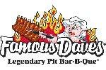 Famous Dave's menu