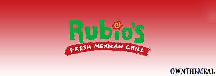 Rubio's Menu & Prices