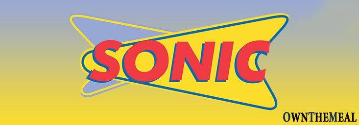 Sonic Menu & Prices