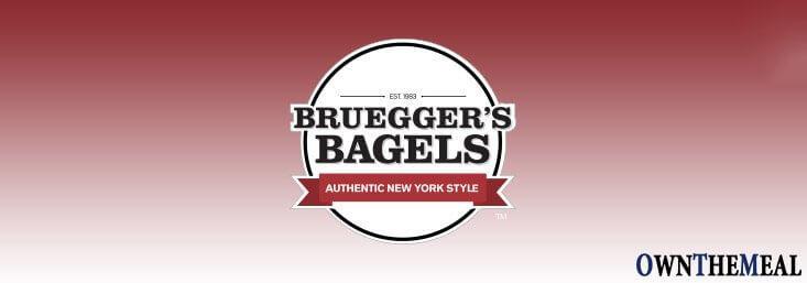 brueggers bagels vegan menu