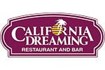 California Dreaming menu