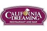 California Dreaming menu