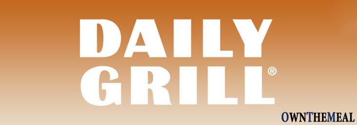 daily grill vegan menu