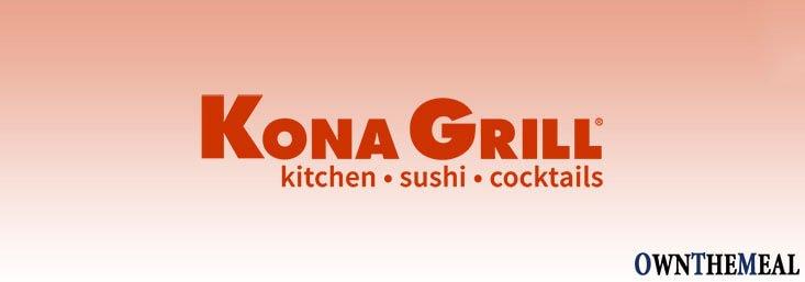 kona grill vegan menu