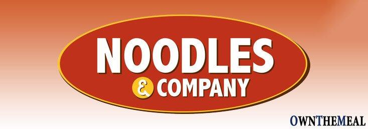 Noodles & Company Menu & Prices