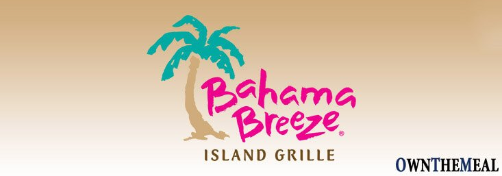 Bahama Breeze Menu & Prices