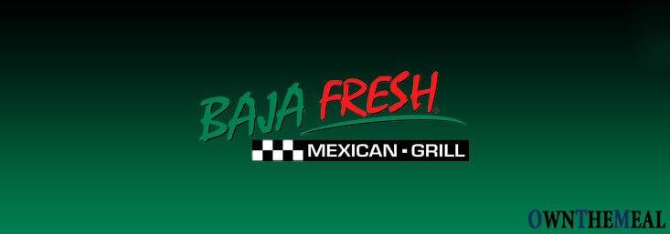 Baja Fresh Menu & Prices