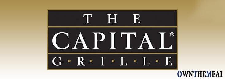 Capital Grille Menu & Prices
