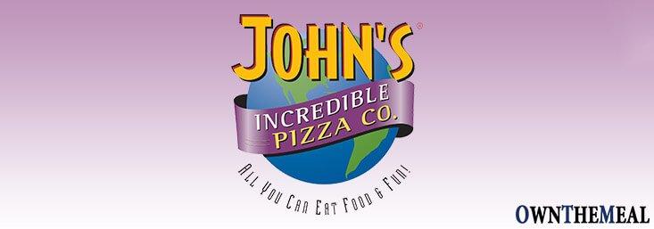 John's Incredible Pizza Menu & Prices