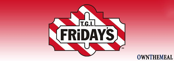 TGI Fridays Menu & Prices