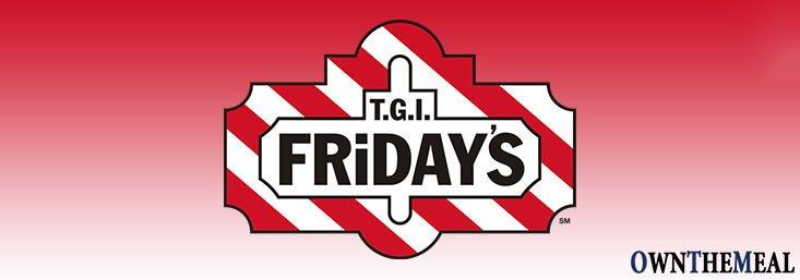 TGI Fridays Menu & Prices