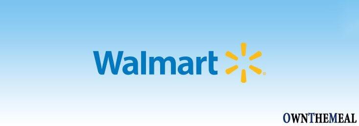 Walmart Catering Menu