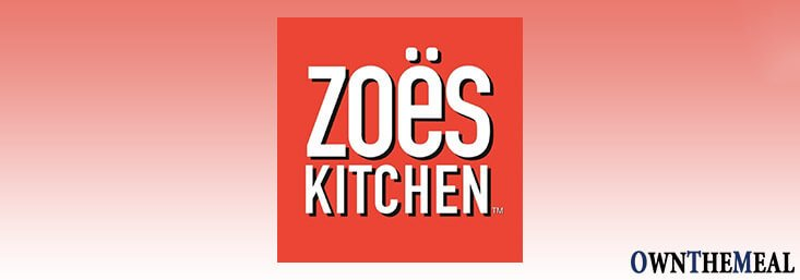Zoës Kitchen Menu & Prices