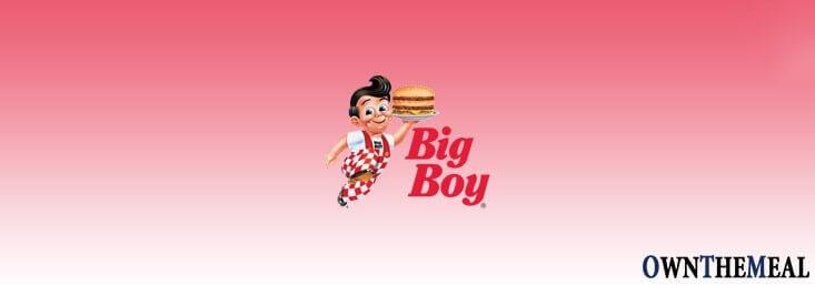 Big Boy Menu & Prices