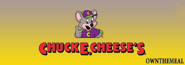 Chuck E Cheese's Menu & Prices