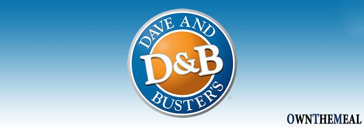Dave & Buster's Menu & Prices