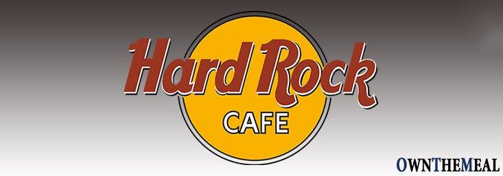 Hard Rock Cafe Menu & Prices
